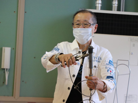 津市立美杉中学校で罠師 古田洋隆さんと取り組む三重の恵みをご紹介(2020年9月28日)
