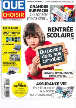 couverture magazine France septembre 2016