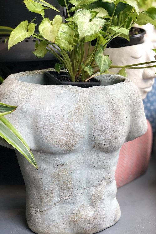 Male Torso Planter