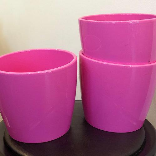 Rasberry Pink Pot
