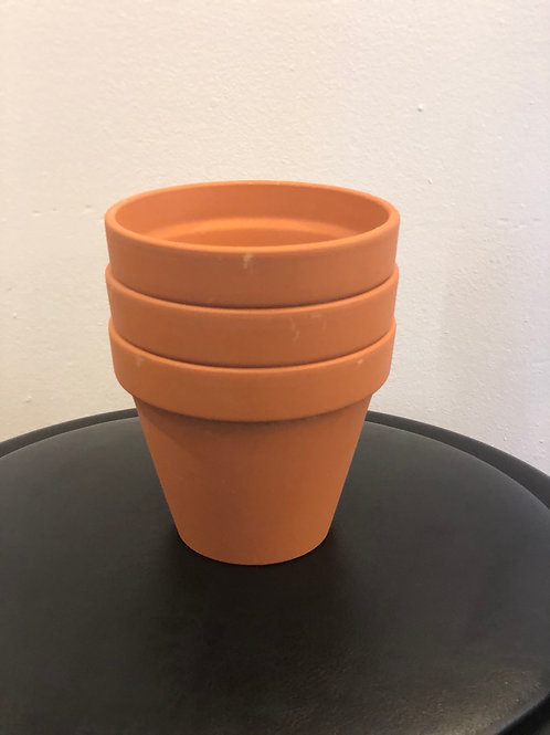 "Terracotta  Pot 4"""