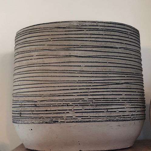 """Concrete String detail Pot 4"""""""
