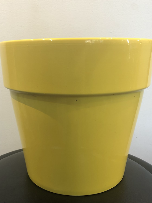 Large Yellow Pot