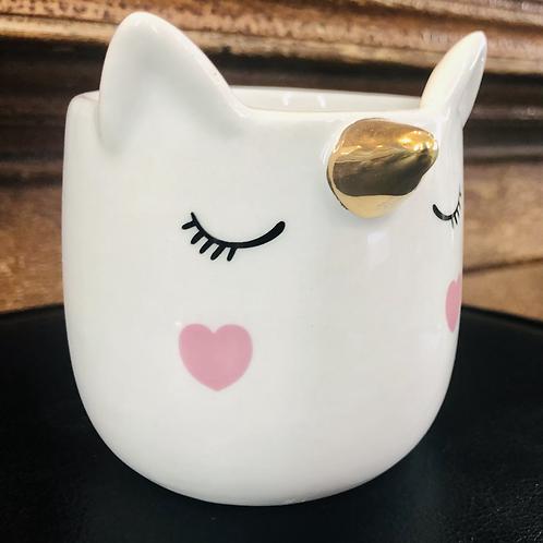 Funny Unicorn Pot