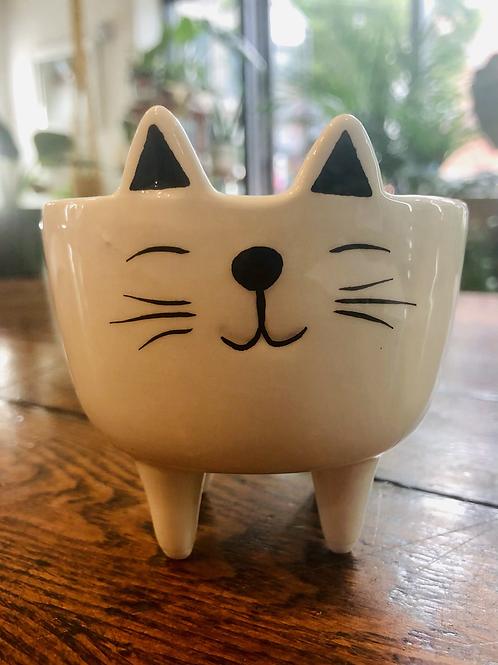Smiley Kitty pot
