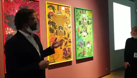 (영상) 에르미타주 미술관 전시투어 중 이두원 작품 소개