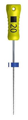 K-File гибкие, 754, Ni-Ti 25 мм, № 35 , ручка SMG , уп 6 шт