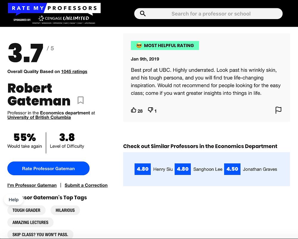 ratemyprof website image