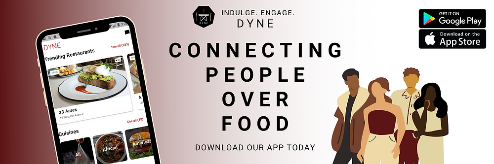Dyne connecting people over food