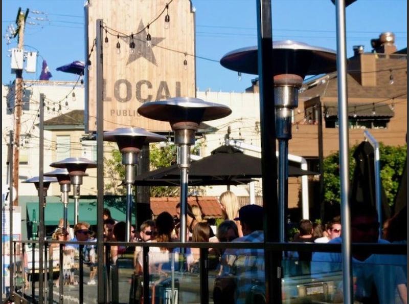 local public eatery patio image