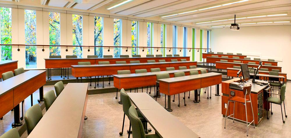 Sauder classroom image