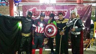 Show Infantil de Avengers