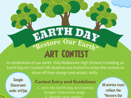 EARTY DAY ART CONTEST