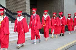 grads walking