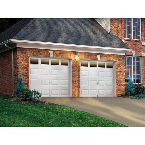 8u0027 by 7u0027 clopay insulated garage door with windows