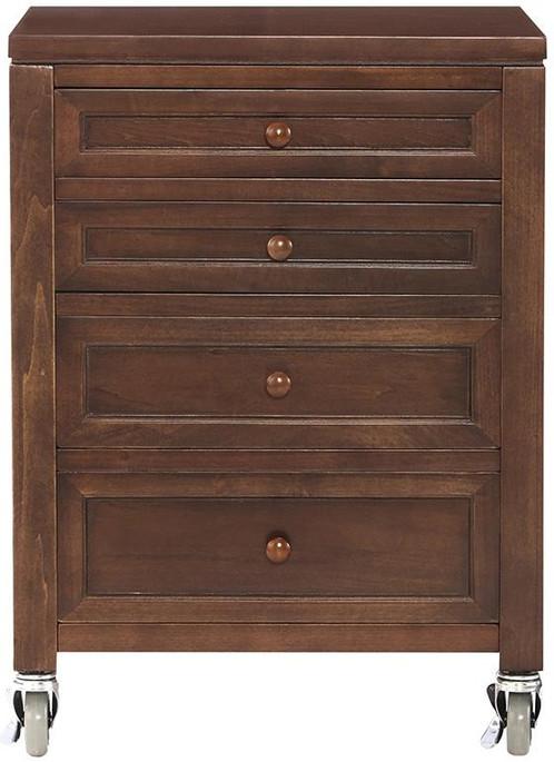 martha stewart living craft space 4 drawer under table cart in