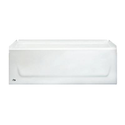 4 5 Kona Left Or Right Drain Soaking Bathtub In White