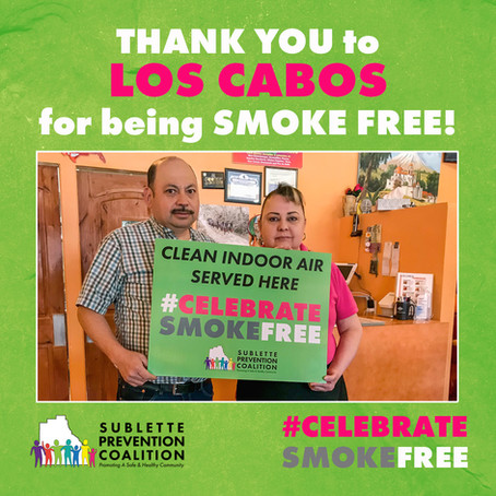 Celebrate Smoke Free at Los Cabos!