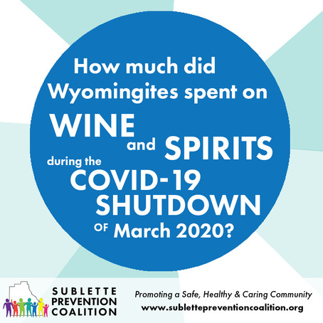 How Much did Wyomingites Spend on Wine & Spirits in March 2020?