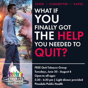 Quit Tobacco Group starting June