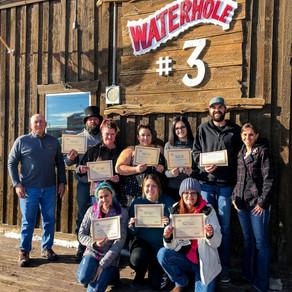 Waterhole #3 holds QPR Training