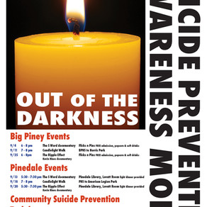 Suicide Prevention Awareness Month Activities
