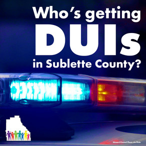 Who's getting Sublette DUI's?