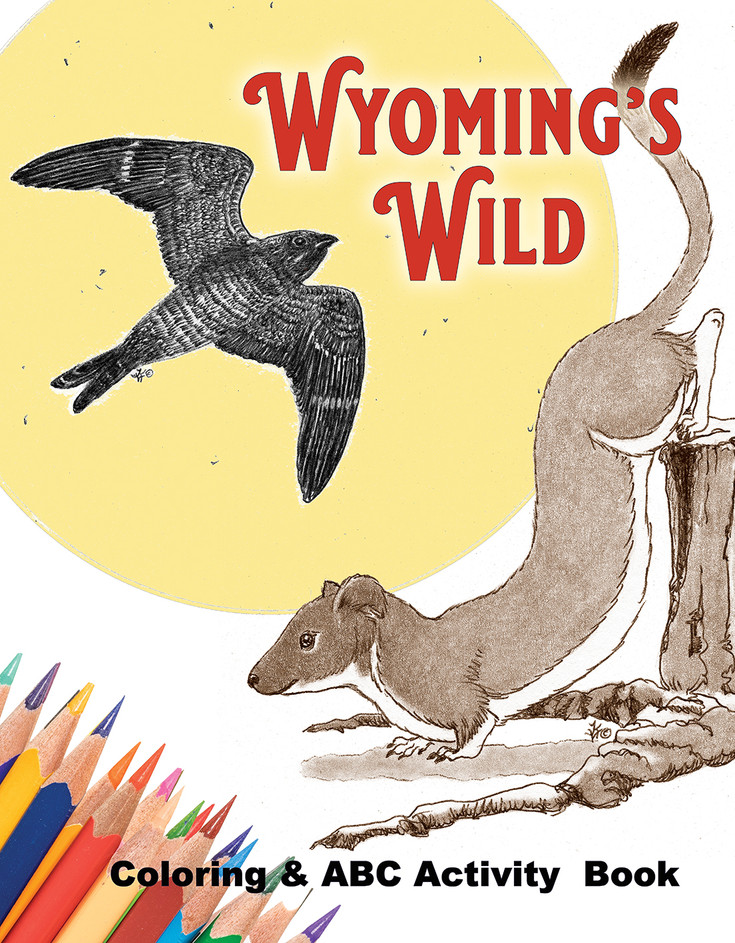 Wyoming's Wild ABC coloring & activity book