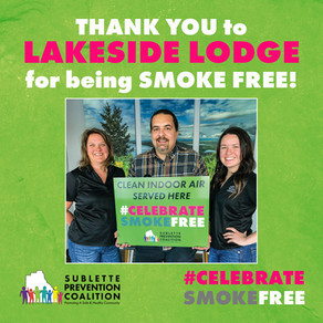 Celebrate Smoke Free at Lakeside Lodge!