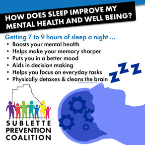 How does sleep improve my mental health and well being?