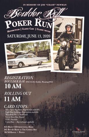 2020 Boulder Roll Poster