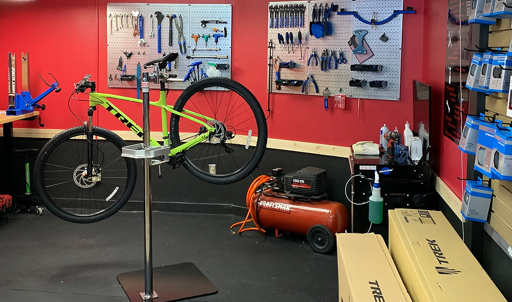 Geared Up Bike repair shop