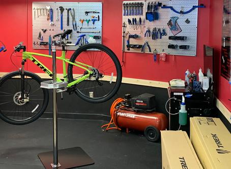 Bike Repair Shop Open!
