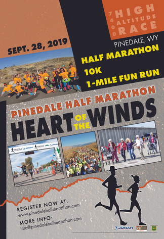 Pinedale Half Marathon Poster