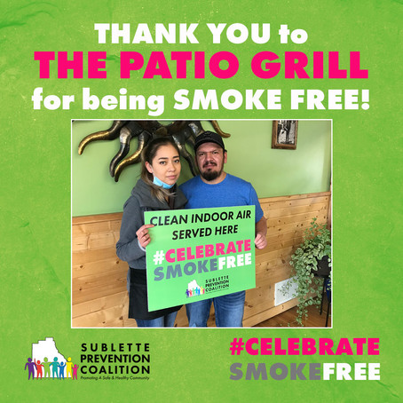 Celebrate Smoke Free at The Patio Grill!