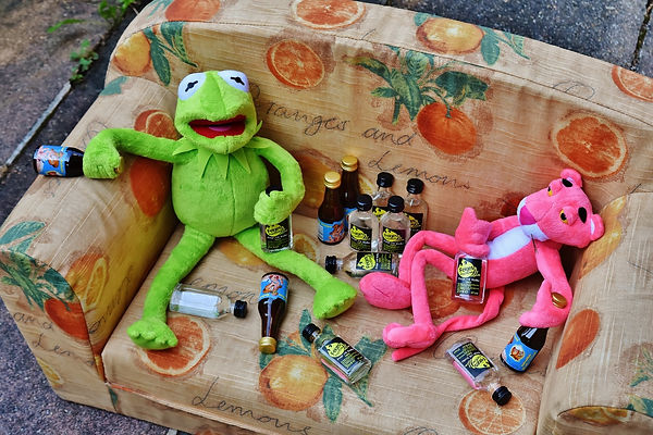 play-drink-frog-toy-alcohol-celebrate-49