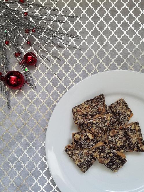 1lb Box of Dark Chocolate Toffee