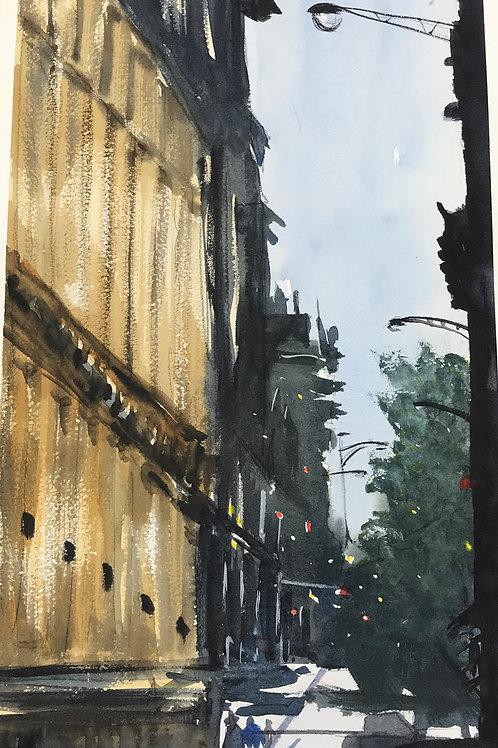 Street Lamp Road