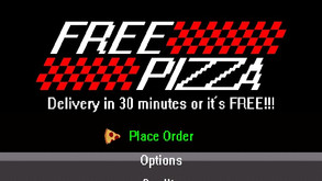 FREE PIZZA (/Free Game) - N8jam Submission