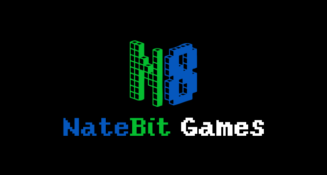 Nate Bit Games Logo BlackBG