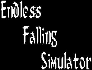 Endless Falling Sim Title