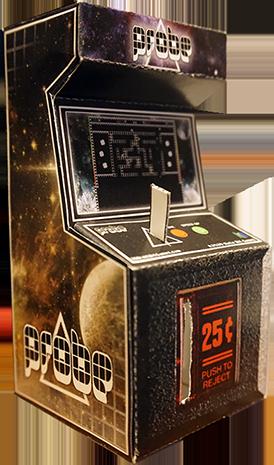 Probe Mini Papercraft Arcade Coin Bank