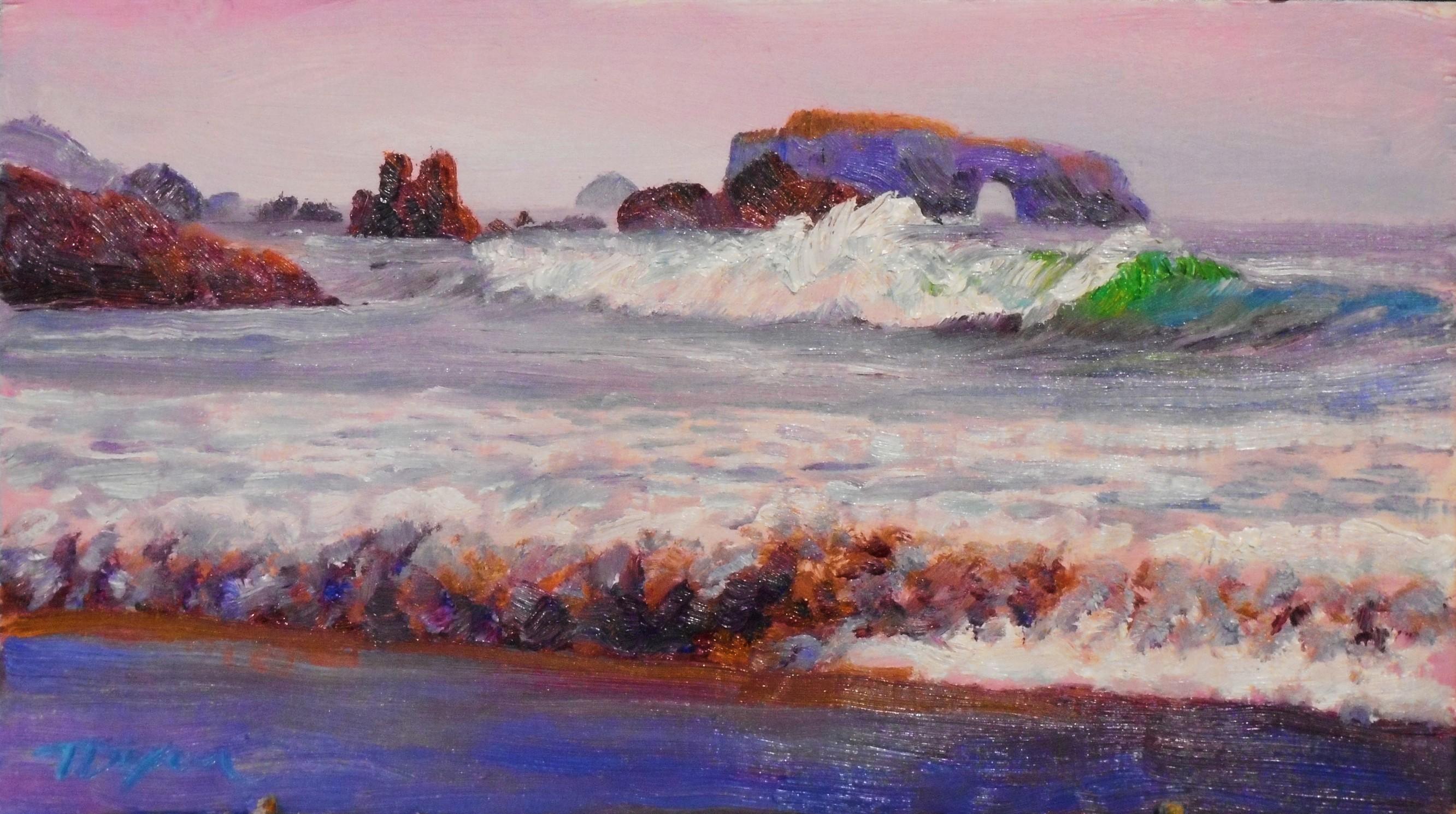 Arch Rock Wave