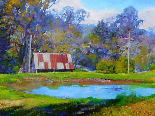 ' Grange Barn Pond '