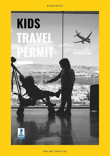 KIDS TRAVEL PERMIT ECUADOR ECUAASSIST.pn