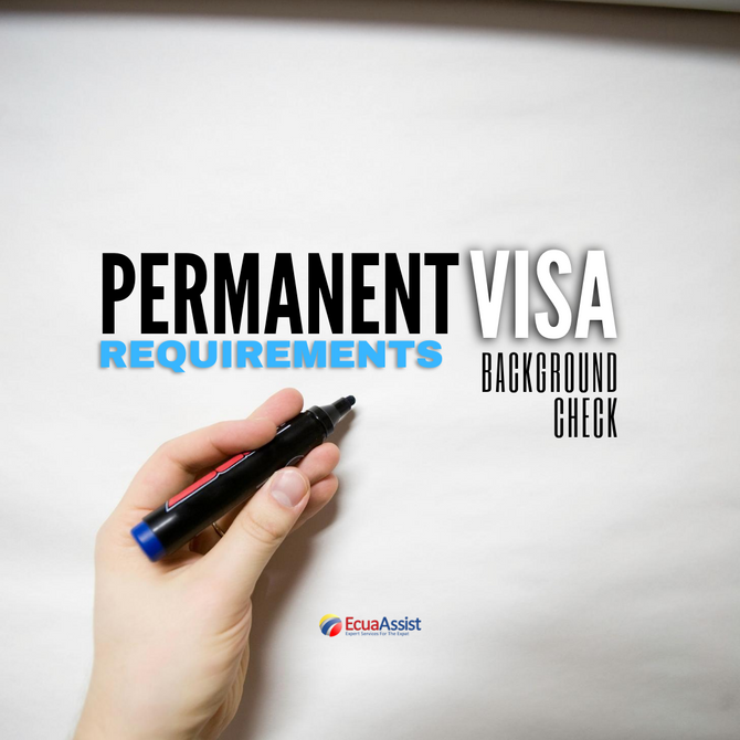 Do I Need a Criminal Background Check from My Country of Origin to Apply for a Permanent Residency V