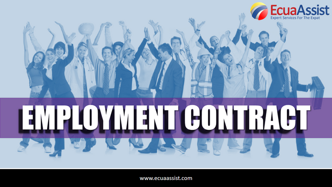 Labor contracts in Ecuador