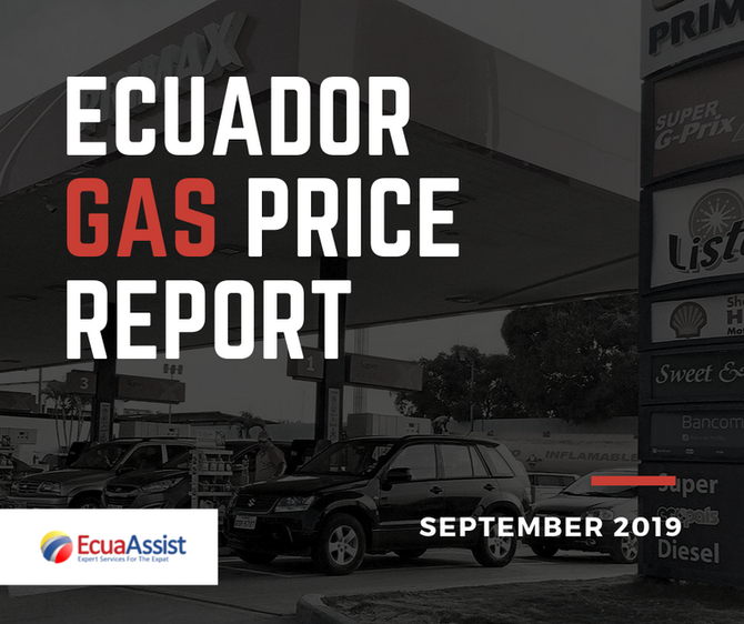 Ecuador Gas Price Report (September 2019)