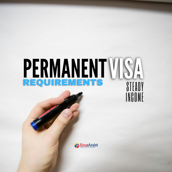 How to prove I have steady income for my Permanent Residency Visa process?