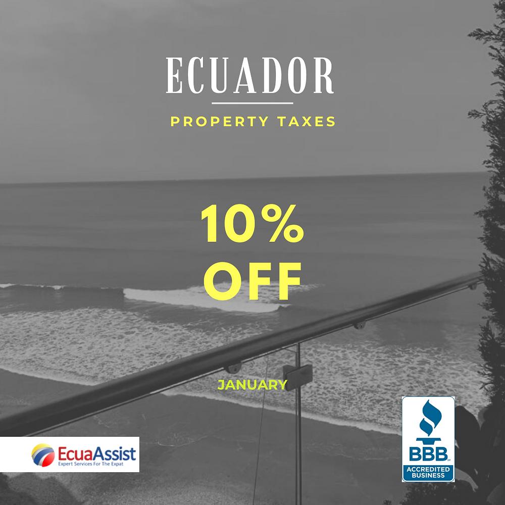 Ecuador Property Taxes 2020